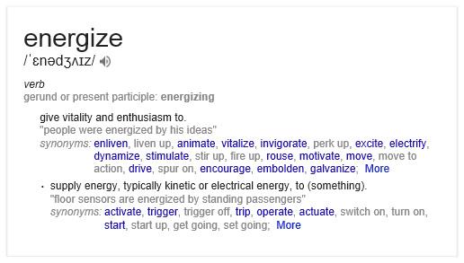 energizing marketing